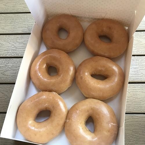 伊勢丹で有名店のドーナツを買って食べました♪