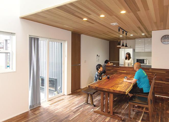 高いデザイン性と快適性を備えた充実のわが家