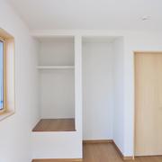 2階もお好みに合わせ収納の使い方を考えた配置