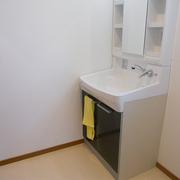 洗面室は収納量アップで清潔に
