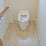 トイレは広い空間になり使いやすくなりました