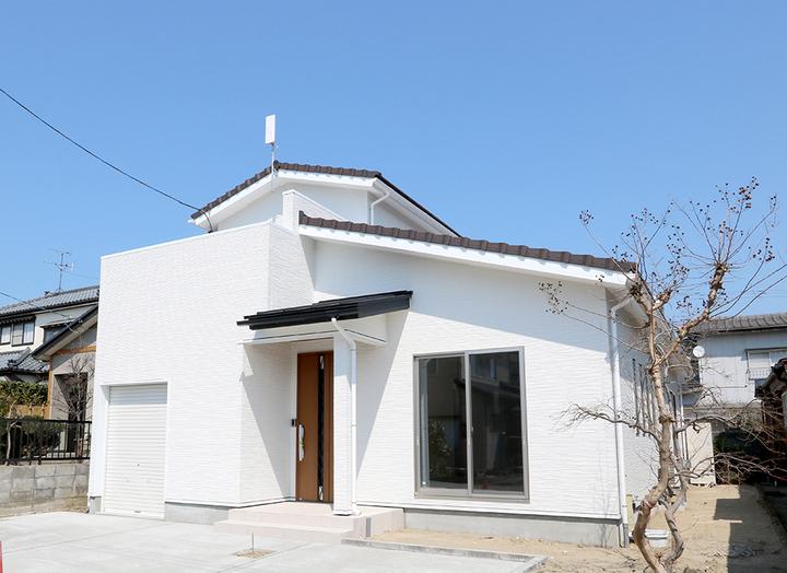 新潟市の光英住宅で二世帯同居リノベーションの家