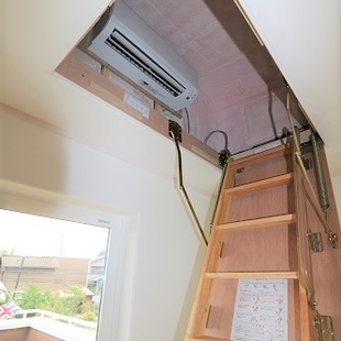 小屋裏エアコンの効果