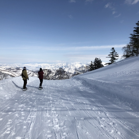 スノーボード 神楽スキー場 湯沢
