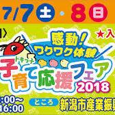 トキっ子子育て応援フェア2018