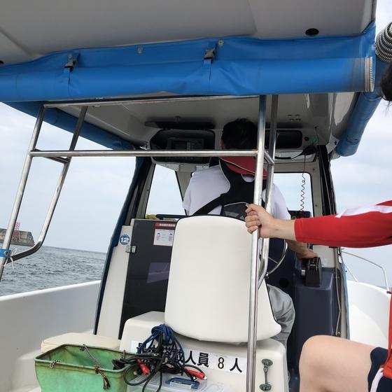 船釣りと現場状況