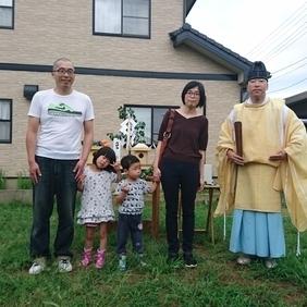 新潟市にて地鎮祭!!