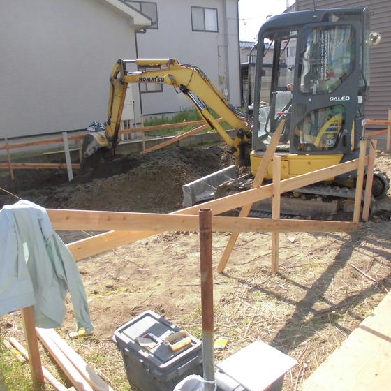 狭小地での『木造3階建』、東区中山2丁目建売住宅着工!