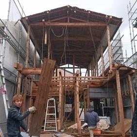 新潟市東区のリノベーション工事