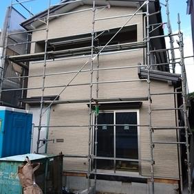 新潟市東区リフォーム現場と地縄張