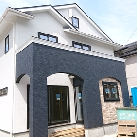 新潟市東区の新築現場です!