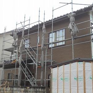 新潟市 リフォーム施工中。