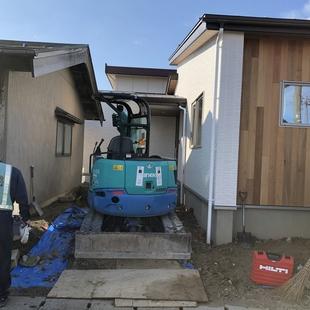 三条市で新築住宅が始まります。