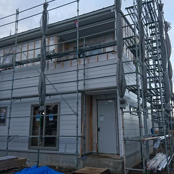 新潟市の注文住宅で気密検査をしました。