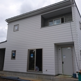 新潟市北区の注文住宅の現場状況です