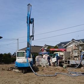 新潟市西区で、長期優良住宅の現場が始まりました。
