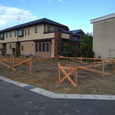 江南区の現場が着工いたしました。