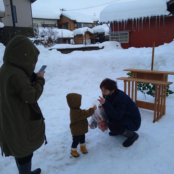雪上地鎮祭