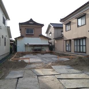 新潟市東区の現場が着工しました。