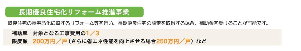 長期優良住宅化リフォーム推進事業 補助金 250万円.jpg